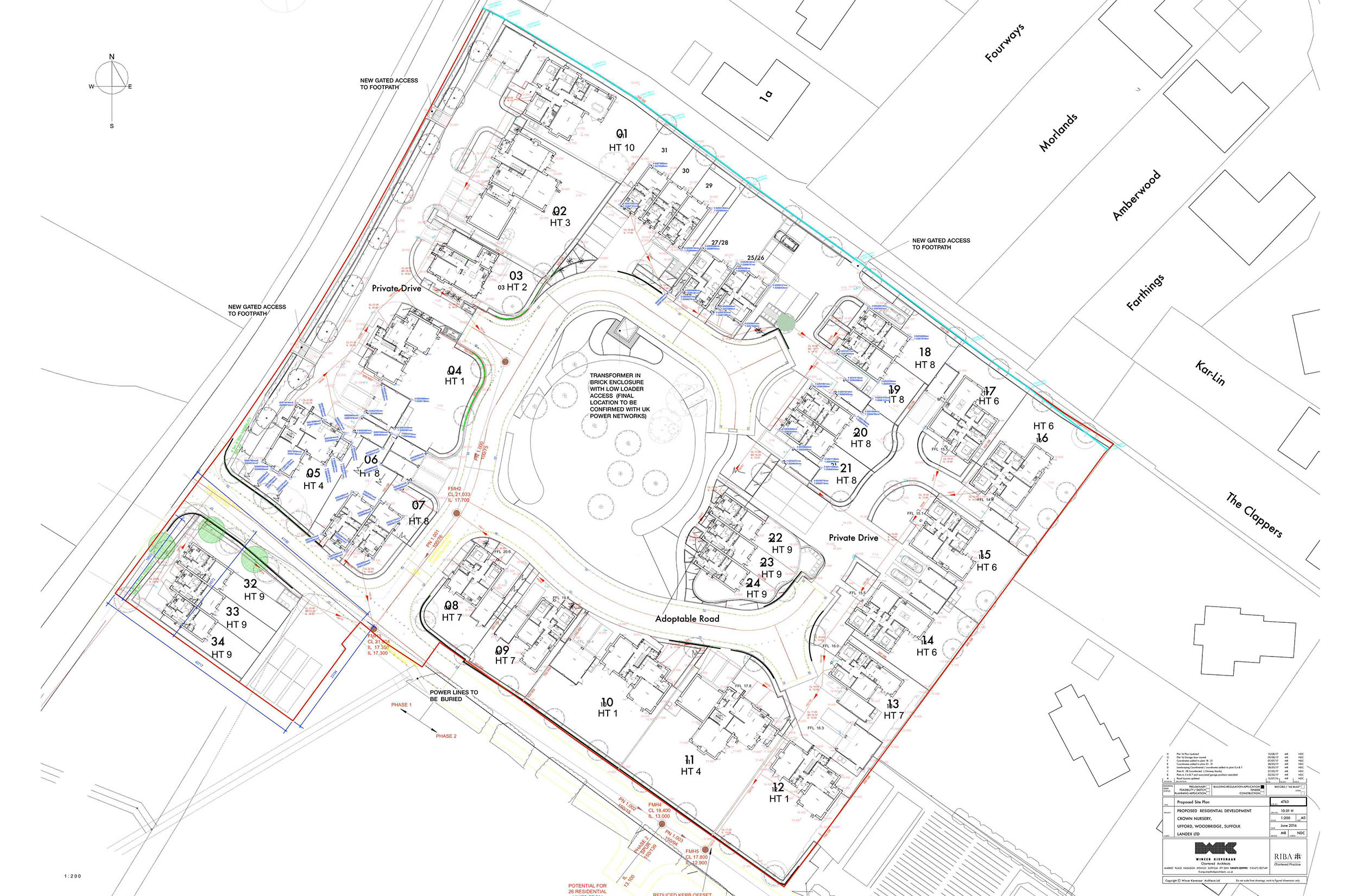 Image of the Ufford Site Plan