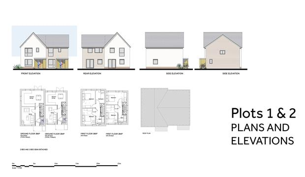 PA 20 01 PLOTS 1 And 2 PLANS AND ELEVATIONS