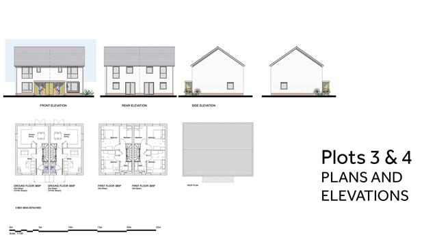 PA 20 02 PLOTS 3 And 4 PLANS AND ELEVATIONS